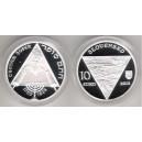 10 euro 2012 - Chatam Sofer proof