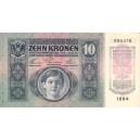 10 K Zehn kronen 2.1.1915, s.1264, stav 1