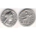 Sabina - matka Hadrianusa, denár UK 33.2b 3,45 g.