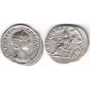 Orbiana - manželka Alexandra Severusa, denár UK 63.1, 2,00 g.