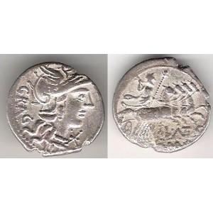 L.Antestius Gragulus 136 p.n.l. - denár RA 904