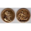Taliansko Michelangelo Buonarroti - AE medaila na 88-výročie narodenia