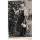 Slovenské kroje Dievča z Myjavy