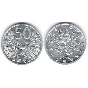 50 halier 1951