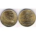 10 Kčs 1990 d), 1993