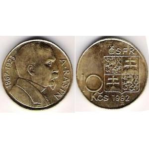 10 Kčs 1992 A.Rašín