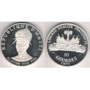 Haiti - 10 gourdes 1971