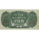 100 K Sto korún poukážka 1944 séria MC,MT perforácia SPECIMEN